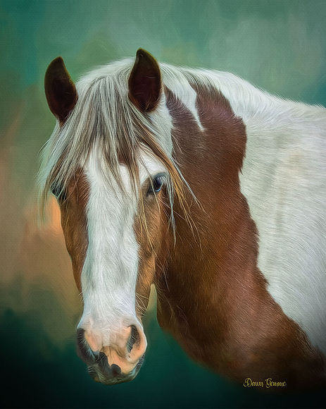 Renoir Inspired Custom Pet Portrait Pain