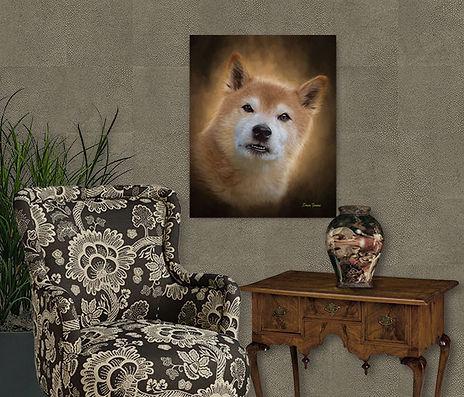 Copper Penny Custom Pet Painting Portrai