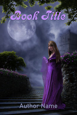Premade Gothic Mystery Book Cover