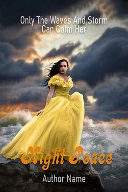 Night Peace Premade Mystery Romance Book Cover