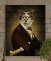 The Historian Period Style Custom Pet Portrait Painting