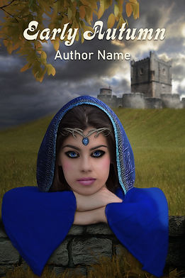 Early Autumn Premade Mystery Romance Book Cover For Sale