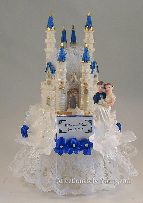 Fantasy Castle Customized Wedding Cake Topper
