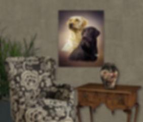 Lavender SkyCustom Digital Oils Pet Pai