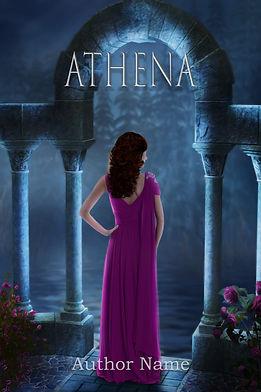 Athena Premade Mystery Romance Book Cover