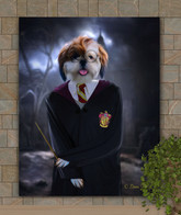 Harry Potter Custom Dog-Cat-Pet Portrait