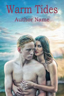 Warm Tides Premade Romance Book Cover