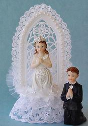First Communion Custom Cake Topper