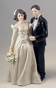 Bride Groom Wedding Figurine