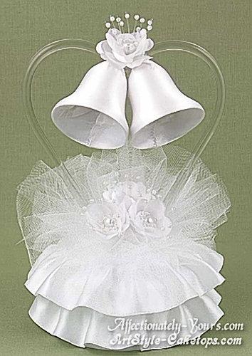 Romance Bells Customized Wedding - Anniversary Cake Topper