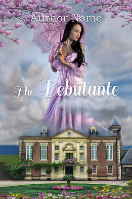 The Debutante Premade Romance Book Cover