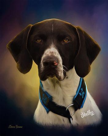 Custom Dog Cat Pet Portrait Painting