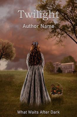Twilight Premade Mystery Romance Book Cover