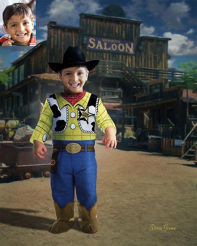 Shefiff Gunslinger Child Make Believe Po