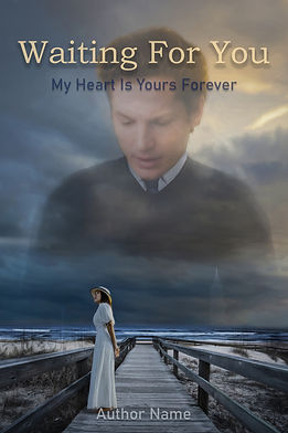 Waiting For You Premade Book Cover For Sale