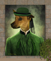 Lady Gwendolyn Period Style Custom Pet Portrait Painting