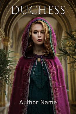 Duchess Premade Mystery Romance Book Cover