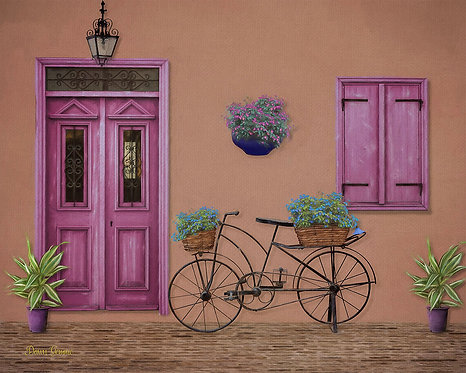 Color Whimsy Retro Digital Painting