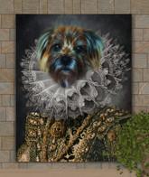 Lady Wilshire Period Style Custom Pet Portrait Painting