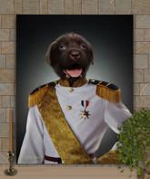 Sir Asa Period Style Custom Pet Portrait Painting
