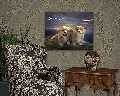 Breaking Storm Custom Pet Portrait Paint