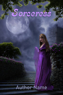 Sorceress Premade Gothic Mystery Romance Book Cover