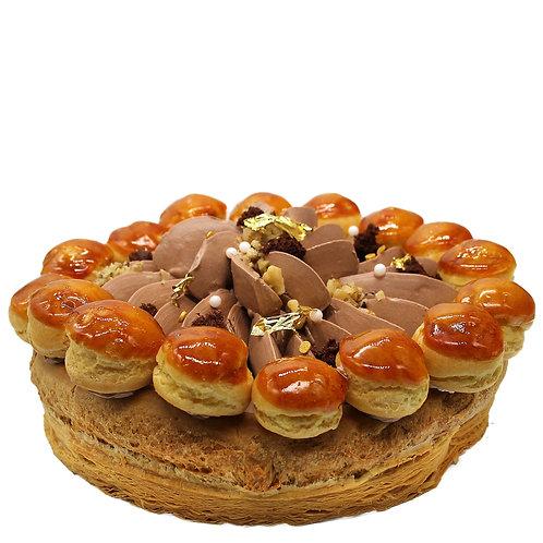 CHOCOLATE-HAZELNUT ST. HONORÉ