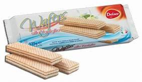 Delser Vanilla Wafers