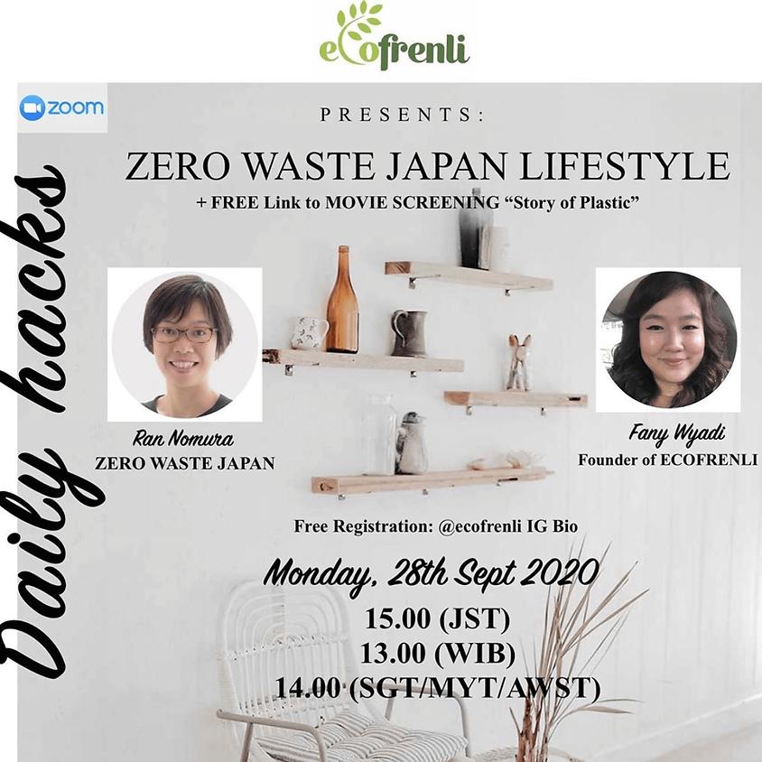 "Zero Waste Japan Lifestyle (+ Movie Screening ""Story of Plastic"")"