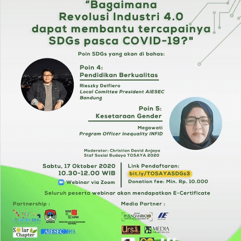 Bagaimana Revolusi Industri 4.0 dapat membantu tercapainya SDGs pasca COVID-19