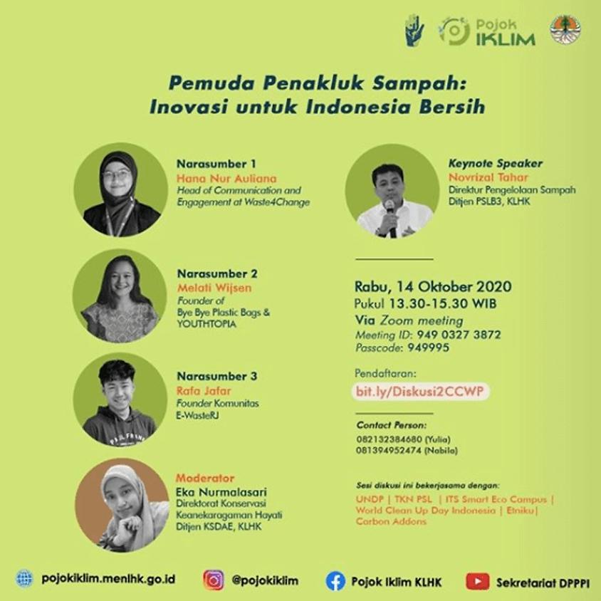 Pemuda Penakluk Sampah: Inovasi untuk Indonesia Bersih