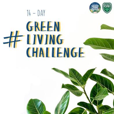 Ayo ikut #GREENLIVINGCHALLENGE 14 Hari!