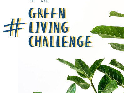 Let's do the 14-day #GREENLIVINGCHALLENGE!