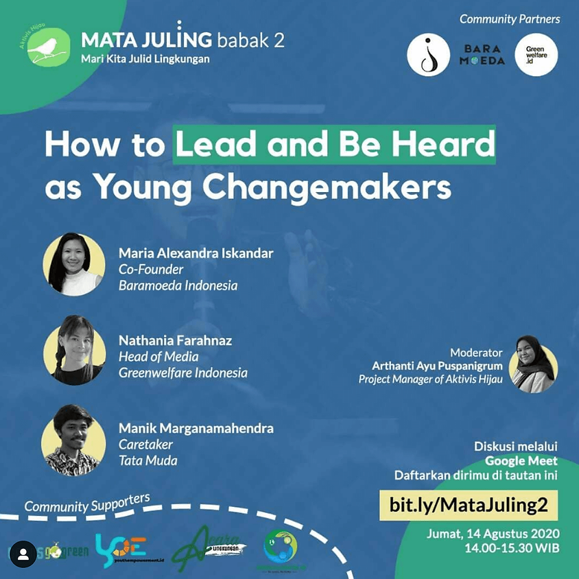 How to Lead and Be Heard as Young Changemakers
