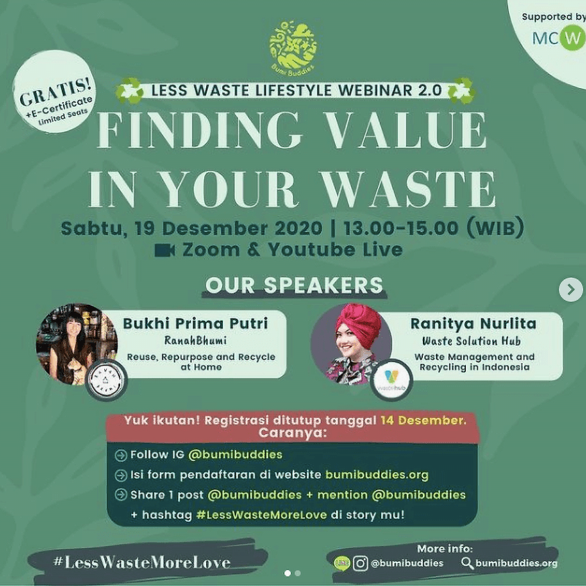 FINDING VALUE IN YOUR WASTE