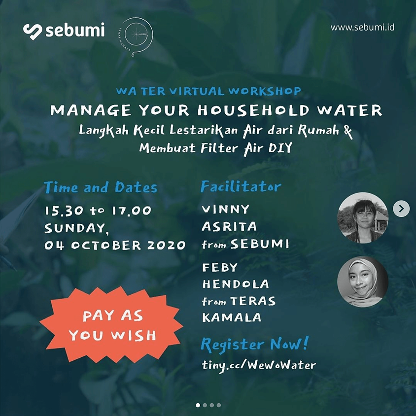 Manage Your Household Water