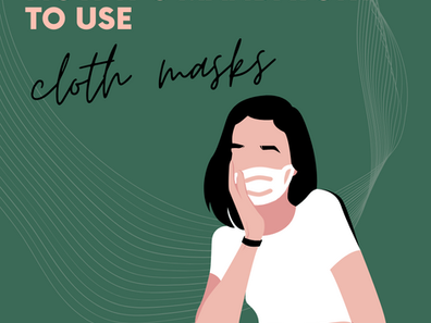 Guide to Cloth Masks #COVID19