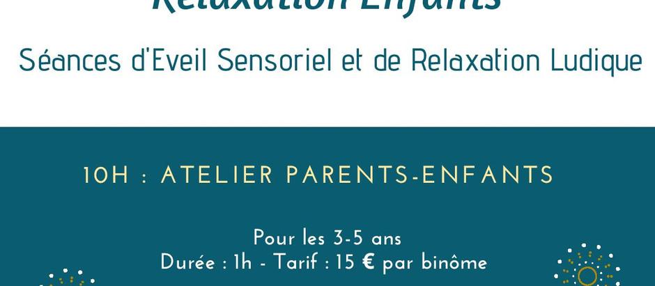 Ateliers Relaxation Enfants à Pompignac