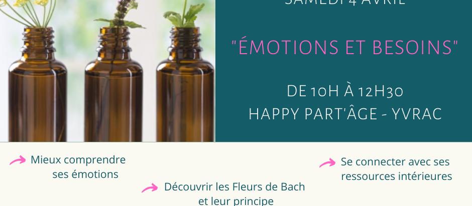 Atelier Fleurs de Bach et Relaxation