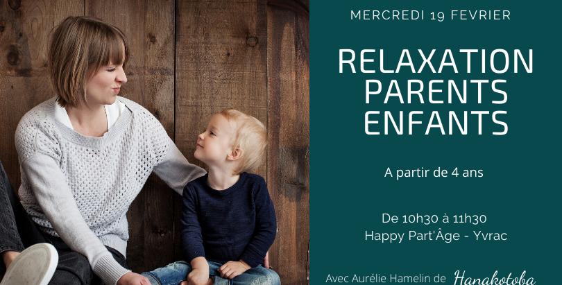 Relaxation Ludique Parents-Enfants