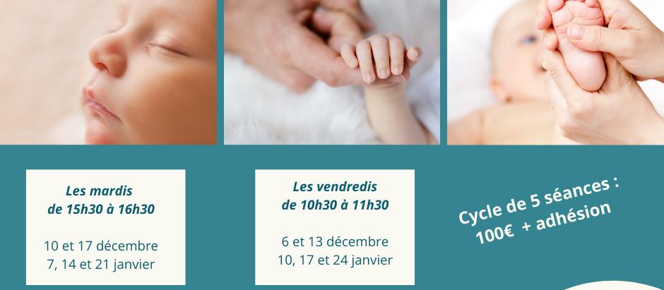 Massage bébé à Ambarès - Décembre 2019