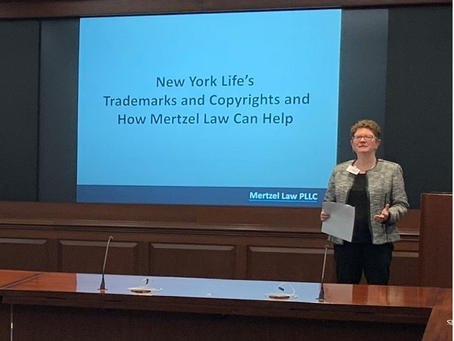 """Nancy Gives """"Star"""" Presentation at Mock Pitch for New York Life Insurance"""