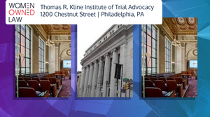 Buildings from Thomas R Kline Institute of Trial Advocacy