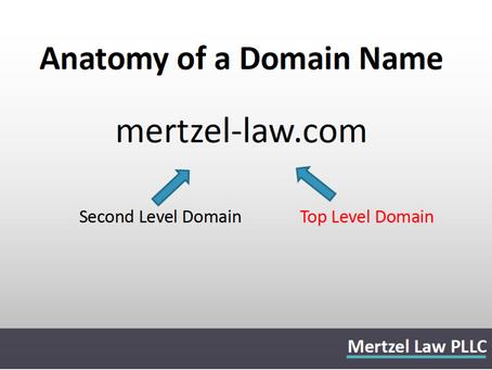 Nancy Mertzel Presents on Trademarks and Domain Names