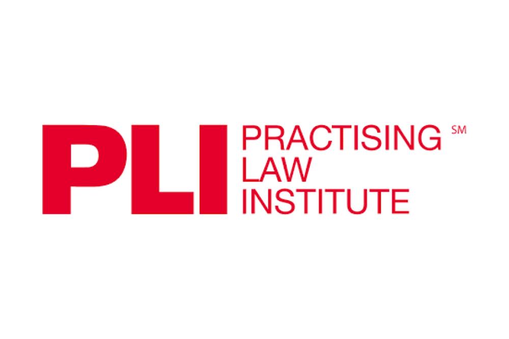PLI Practicing Law Institute logo