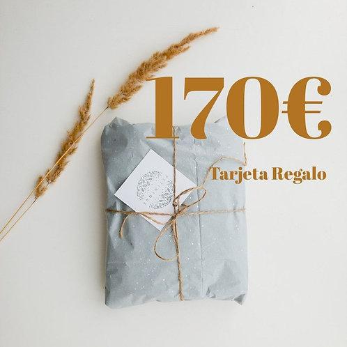 Tarjeta Regalo 170€