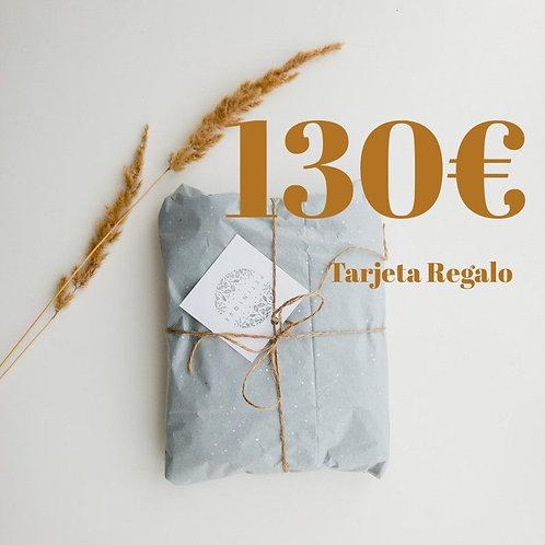 Tarjeta Regalo 130€