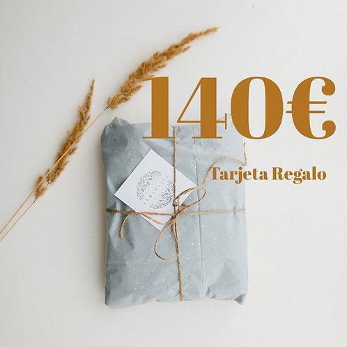Tarjeta Regalo 140€