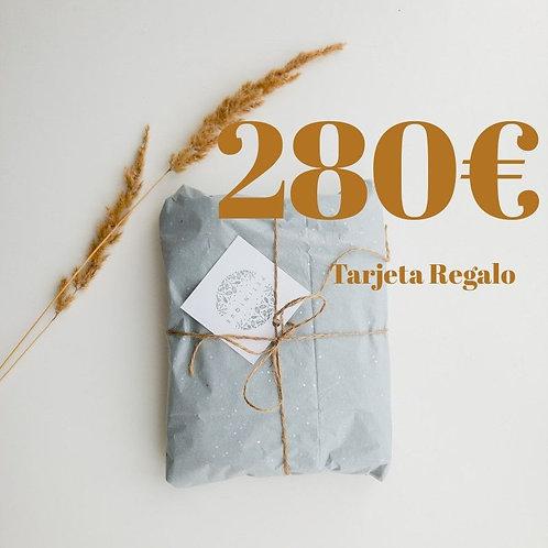 Tarjeta Regalo 280€