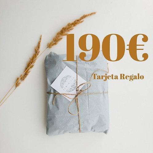 Tarjeta Regalo 190€
